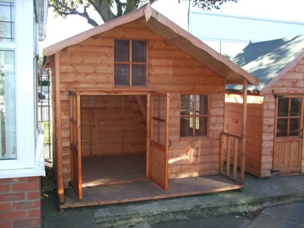 Adventure Wooden Childrens Playhouse by Pinelap Sheds | Bradford