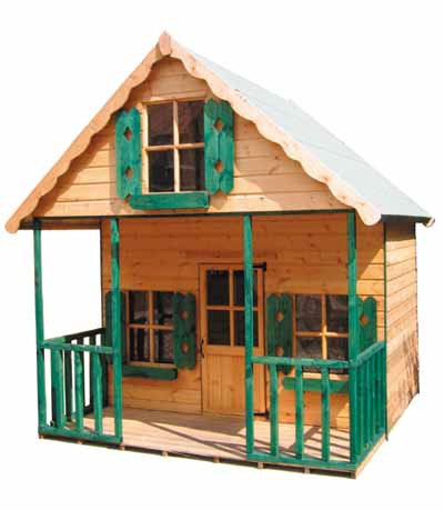 Chateau Wooden Childrens Playhouse by Pinelap Sheds | Bradford