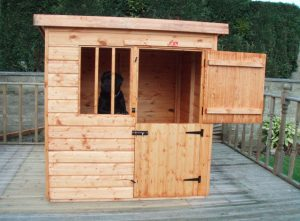 Deluxe Kennel by Pinelap Sheds | Bradford