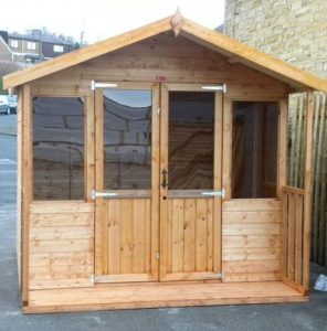 Devon Apex by Pinelap Sheds | Bradford