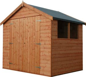 Euro Shed Double Door by Pinelap Sheds | Bradford
