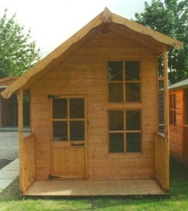 Fantasia Wooden Childrens Playhouse by Pinelap Sheds | Bradford