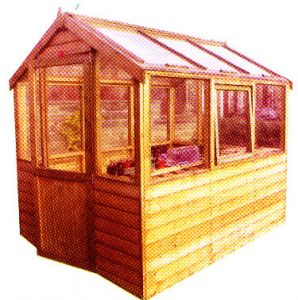 Greenhouse Fitted by Pinelap Sheds | Bradford