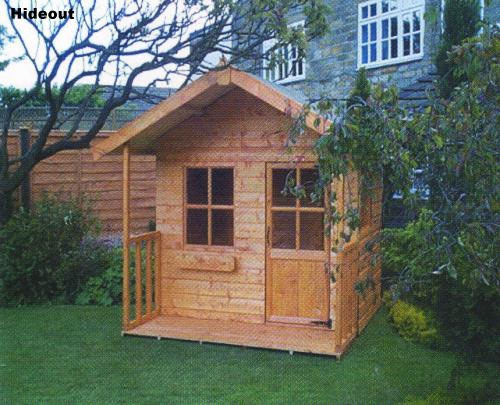 Hideout Wooden Childrens Playhouse by Pinelap Sheds | Bradford