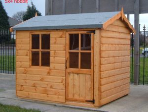 Hobbit Wooden Childrens Playhouse by Pinelap Sheds | Bradford
