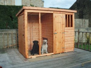 Kennel & Run by Pinelap Sheds | Bradford