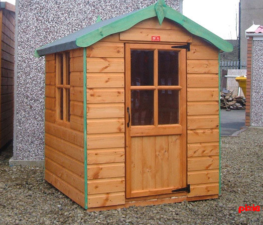 Pixie Den Wooden Childrens Playhouse by Pinelap Sheds | Bradford