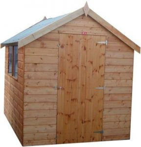 Substandard Range Apex Shed by Pinelap Sheds | Bradford
