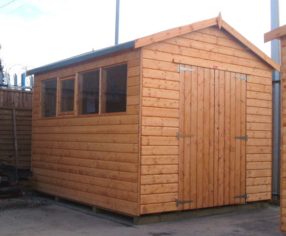 The Workshop 19mm Apex Shed by Pinelap Sheds | Bradford