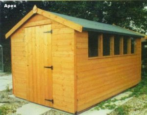 Eco Range Apex Shed by Pinelap Sheds | Bradford