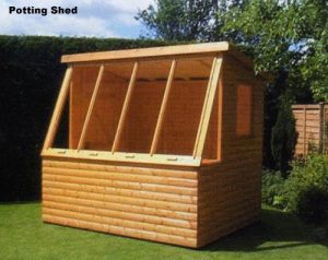 The Potting Shed Tanalised by Pinelap Sheds | Bradford
