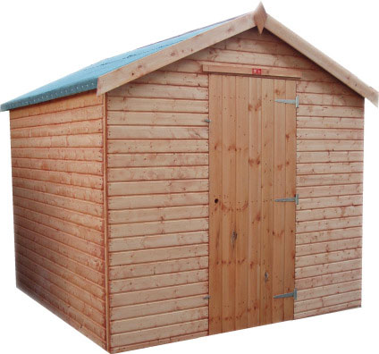 Euro Shed Single Door by Pinelap Sheds | Bradford