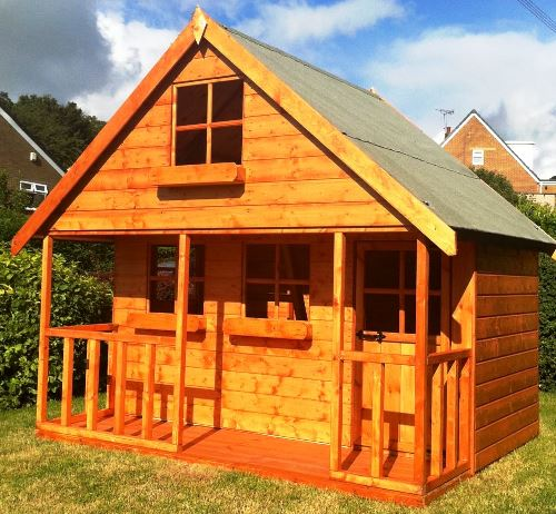 Mini Chateau Wooden Childrens Playhouse -12mm Shiplap by Pinelap Sheds | Bradford