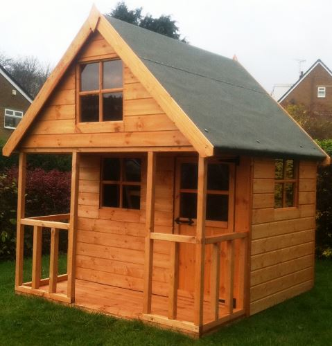 Mini Chateau 6x6 Wooden Childrens Playhouse by Pinelap Sheds | Bradford