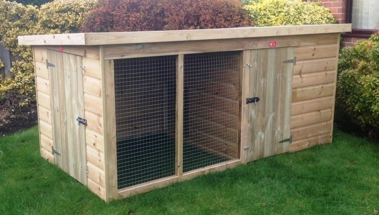 How To Make A Cheap Outdoor Dog Kennel